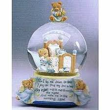 baptism snow globes pooh and piglet s happy birthday snow globe from