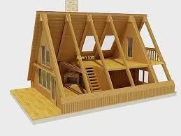 building an a frame cabin framing an a frame cabin on a budget