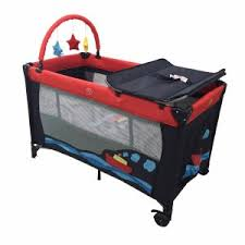 Baby Folding Bed Playpen For Kids Baby Play Yard Travel Cot Foldable Travel Bed