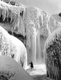 frozen niagara falls photographs hoax slayer