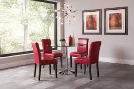 clemente smoke glass u0026 chrome dining room table set 103000 savvy
