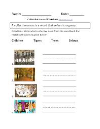 Nouns Worksheet 2nd Grade Common Core Language Worksheets