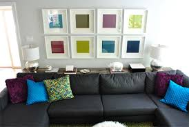 Bookshelf Behind Couch What To Put On A Console Table Behind A Couch Young House Love