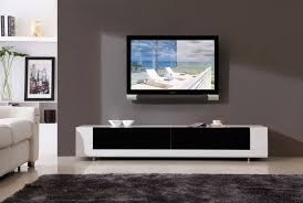 Computer Tv Desk Modern Tv Stands Black White Theme Computer Desk Tv Stand Combo
