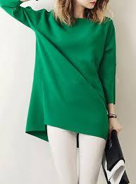 green womens blouse womens polka dot shirt tailored cuffs ruffled
