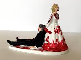 creative decoration zombie wedding cake toppers custom zombie cake