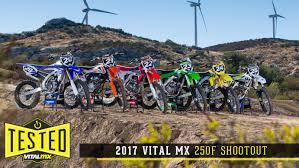 best 250 2 stroke motocross bike 2017 vital mx 250 shootout motocross feature stories vital mx