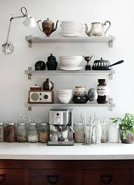 kitchen shelves ideas 12 kitchen shelving ideas the decorating dozen organized