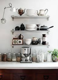 shelving ideas for kitchens 12 kitchen shelving ideas the decorating dozen organized