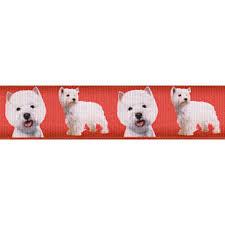 dog ribbon printed ribbon dog breed designs wholesale fabric ribbon dog