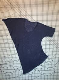 pattern for japanese top on sewing bee drape drape 2 no 4 one piece scoop neck asymmetric top it s love