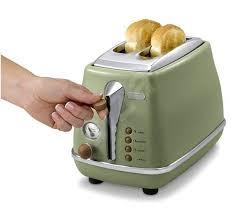 Deloghi Toaster Delonghi Icona Vintage Ctov 2003 Gr Olive Green Toaster