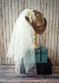 cowgirl hat western wedding dress accessories country bride