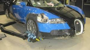 crashed for sale crash damaged bugatti veyron on sale for just 250k