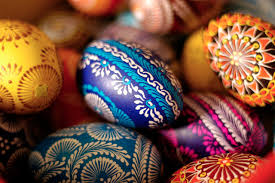 Easter Egg Decorations Easter Eggs Decoration And Coloring Ideas Easy Easter Eggs