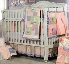 Ballerina Crib Bedding Wamsutta Sheets Discount Ballet Bunnies 4 Baby Crib Bedding Set