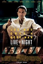 live by night movie poster 2 sided original final 27x40 ben