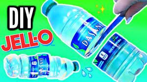 diy gummy water bottle crystal clear jelly bottle youtube