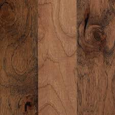 Mohawk Engineered Hardwood Flooring Mohawk Hamilton Weathered Hickory 3 8 In Thick X 5 In Wide X