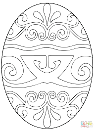 egg coloring pages decorating kids picture archives giant easter