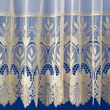 Cream Lace Net Curtains Bloomsbury Cream Jardiniere From Net Curtains Direct