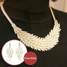 accessories collar necklace images Brightly maxi statement collar necklaces luxury feathers snake chain n jpg