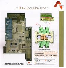 2bhk floor plan amolik heights sector 88 faridabad haryana under affordable
