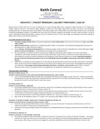 ideas of architectural project manager cover letter in example