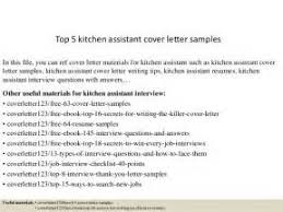 kitchen porter cover letter example learnist org sample cover