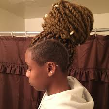 twist using marley hair shaved sides with marley twists shaved sides with marley twists