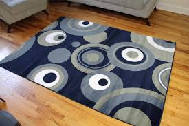 Navy Blue And Beige Area Rugs by Area Rugs Collection On Ebay