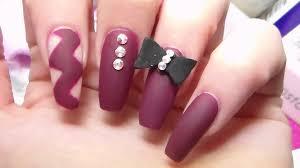nail art 34 remarkable matte nail designs picture ideas blue