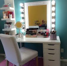 coiffeuse chambre ado de bien jolis rangements maquillage sur instagram rangements