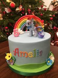 pony u0027s rainbow dash cake sweet cake bites