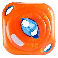 bouée siège bébé bouée siège bébé orange avec hublot avec poignées decathlon guadeloupe