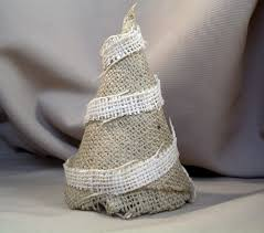 guest project make burlap christmas trees