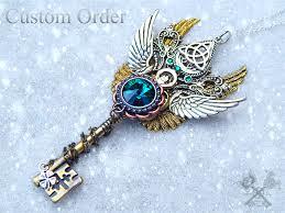 vintage key necklace images Beautiful celtic skeleton key commission by artbystarlamoore on jpg
