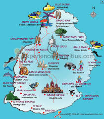 Map Of The Caribbean Islands Mauritius Pronounced Mar Ish Us A Small Island Country Off The