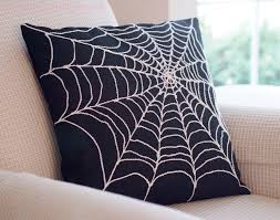 spider web pillow could do this w a cheap black pillow u0026 a