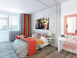 Simple Apartment Decorating Ideas by Apartment Simple Apartment Bedroom Design With Big Mirror Ideas