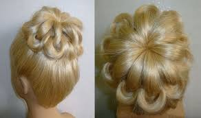 hairstyles with a hair donut updo bun hairstyles for weddings hairstyle foк women man
