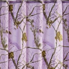 ap lavender camo shower curtain free shipping
