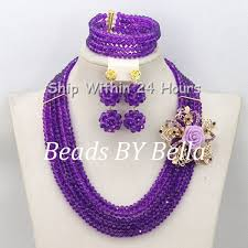 african wedding bead necklace images 2017 hot nigerian beads necklace handmade braid beads african jpg