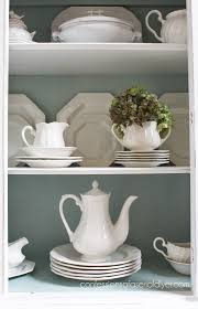 duck egg blue and white china cabinet confessions of a serial do