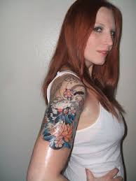 cool ink tattoos designs half sleeve tattoo designs for women