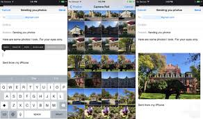how to send pictures from iphone to android how to send photos and from an iphone to an android phone