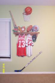 20 best murals images on pinterest mural ideas wall murals and basketball themed nursery sports theme nursery murals nursery murals and more
