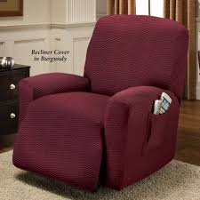 Slipcovers For Reclining Sofa And Loveseat Furniture Brixton Chocolate Stretch Recliner Slipcover For Bright