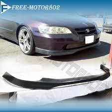 02 honda accord type for 98 00 honda accord 4dr type r front bumper lip spoiler bodykit