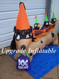 online shop 3m long outdoor halloween inflatable dog weenie
